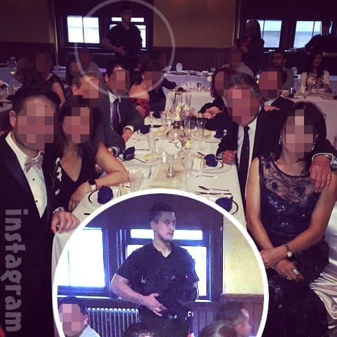 90 Day Fiance Evelyn and David's wedding photo from dinner