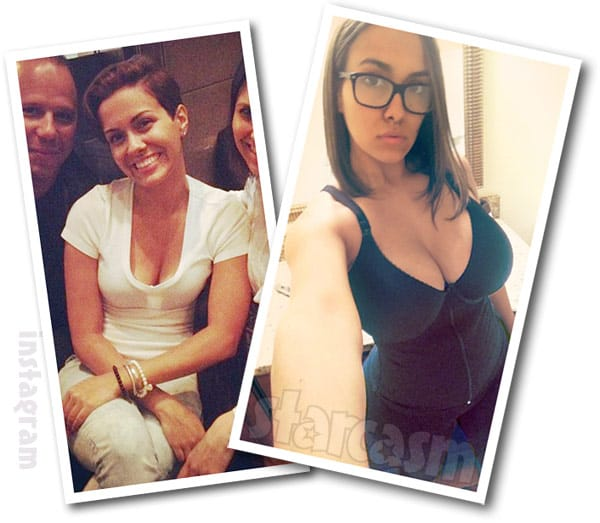Teen Mom 2 Briana DeJesus before and after breast implants photos