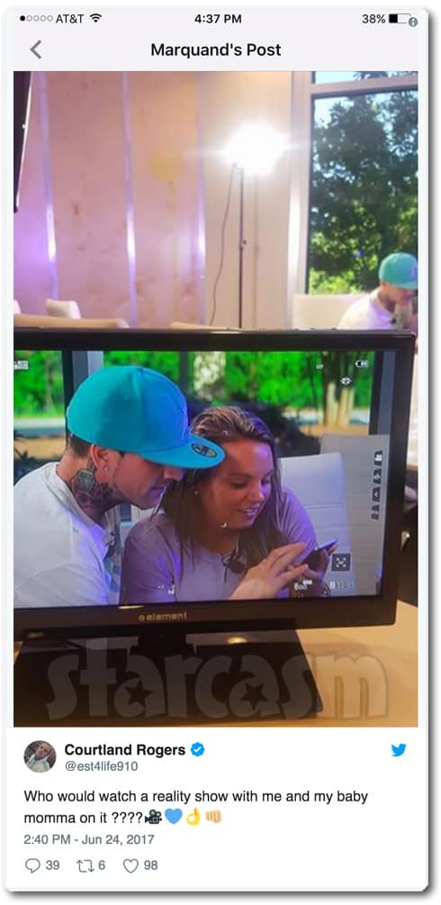 Courtland Rogers The Ex Files Jenelle Evans MTV special