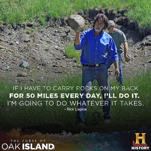 Curse of Oak Island renewed 2