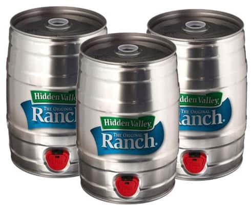 Hidden Valley Ranch in a keg