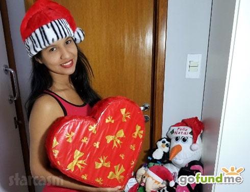Before the 90 Days Karine Christmas trip GoFundMe