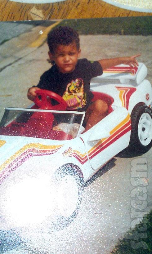 Kieffer Delp childhood photo