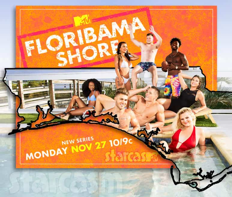 MTV Floribama Shore cast