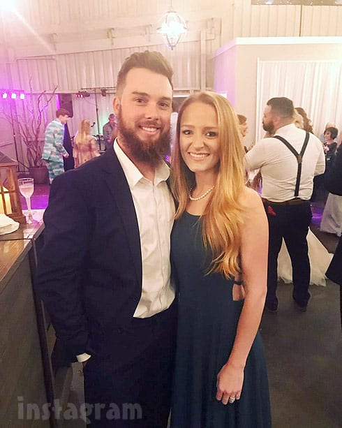 Teen Mom OG Maci and Taylor McKinney at Ryan's wedding