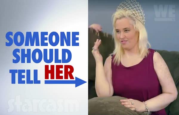 Mama June Shannon beauty pageant
