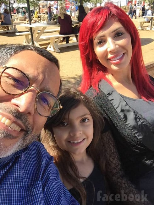 Michael Abraham with Farrah Abraham and daughter Sophia