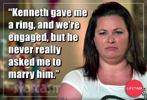 90 Day Fiance Molly Hopkins engaged quote from previous reality show Double Divas