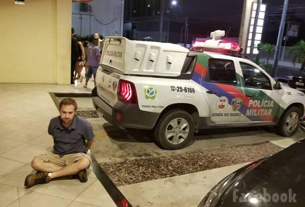 Paul Staehle arrested in Brazil joke prank