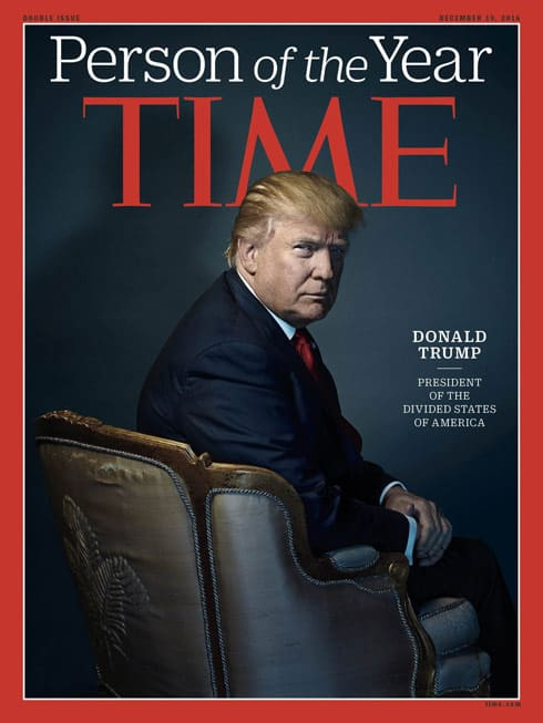 TIME Person of the year Donald Trump cover