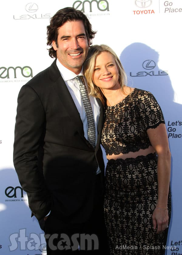 Carter Oosterhouse and wife Amy Smart