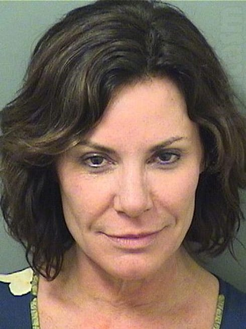 Countess Luann mug shot arrest