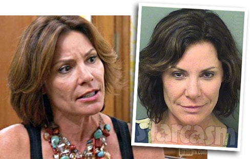 Countess LuAnn checks into rehab for alcohol problem