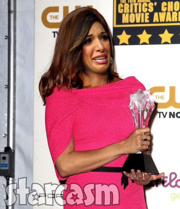 Teen Mom OG Farrah Abraham Critics Choice Award nomination