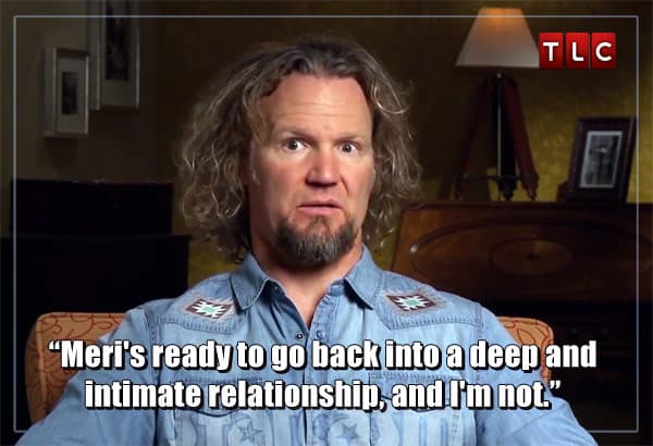 Sister Wives Kody Brown Meri relationship quote