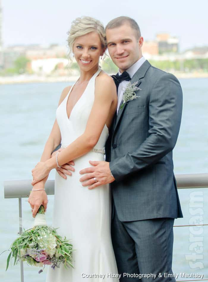 Married at First Sight MAFS Jonathan Francetic and Molly Duff wedding photo