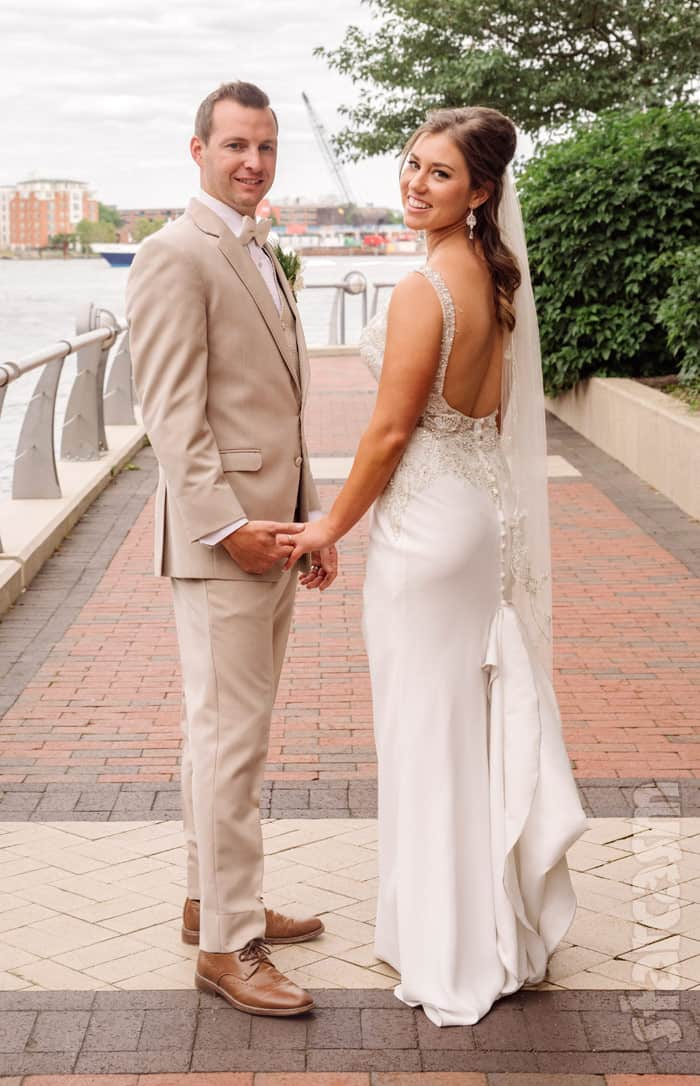 Married at First Sight Ryan Buckley and Jaclyn Schwartzberg wedding photo