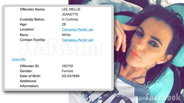 GYPSY SISTERS Mellie Stanley arrested in Louisiana on the