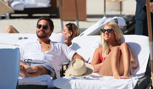 Scott Disick on holiday with his girlfriend Sofia Richie in Miami