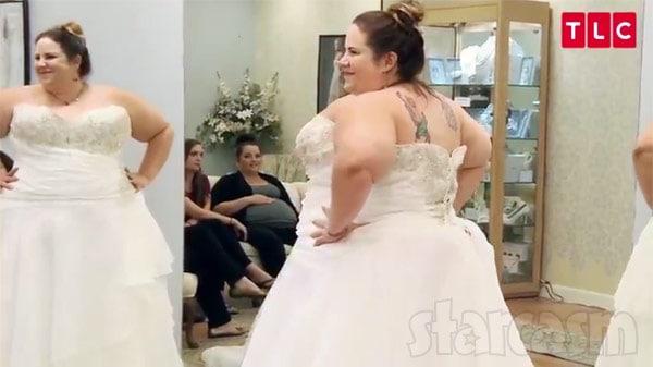 Whitney Thore wedding dress