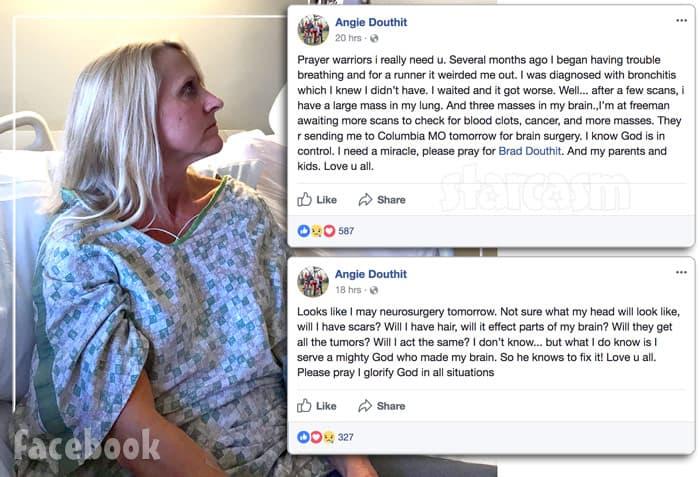 Mackenzie McKee's mom Angie Douthit hospitalized