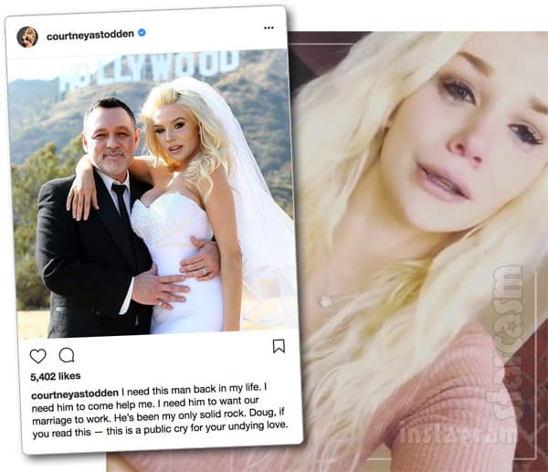 VIDEO Courtney Stodden doesn't want divorce, pleads for husband Doug