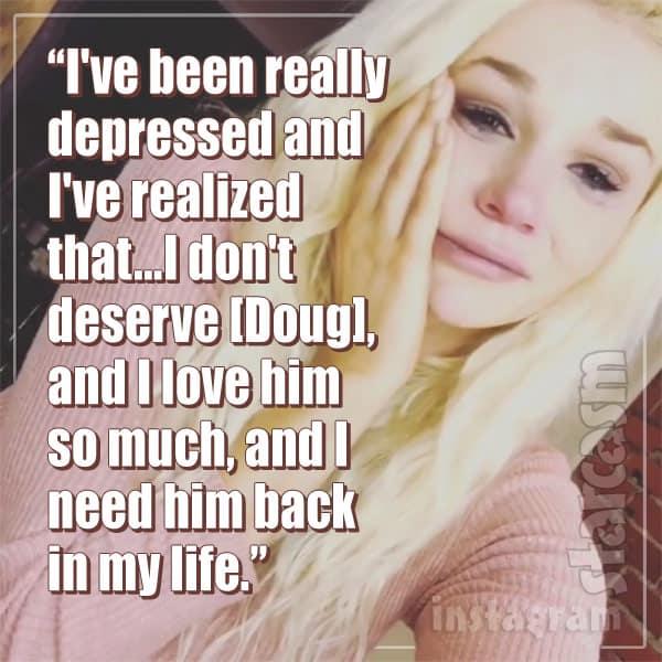 Courtney Stodden wants husband Doug back