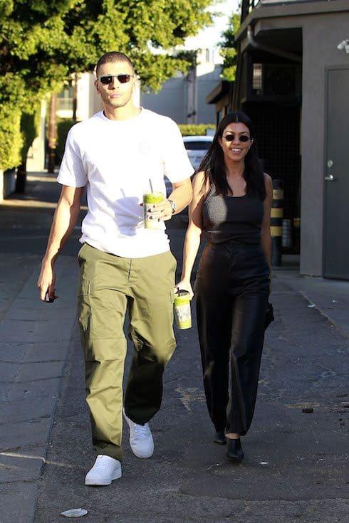 Report Kourtney Kardashian S Secret Wedding To Younes Bendjima