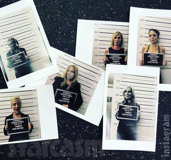 The Real Housewives of New York City RHONY mug shots Conbody Gym