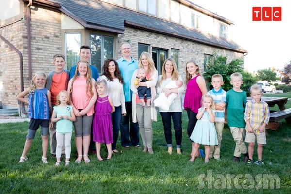Seeking Sister Wife Briney family photo