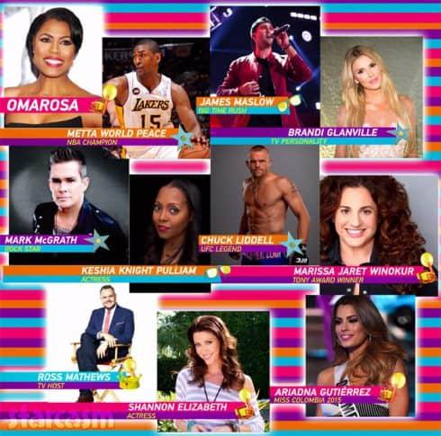 US Celebrity Big Brother cast