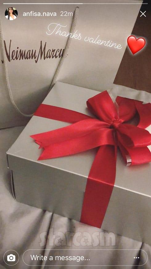 Anfisa Jorge Valentine's Day gift 2018