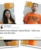 Before the 90 Days Paul and Karine break up, she asks him to leave Brazil