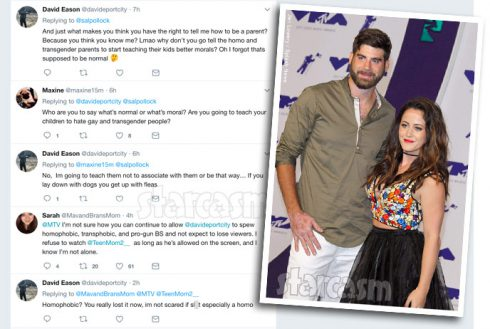 David Eason anti gay and transgender Twitter rant - all the tweets