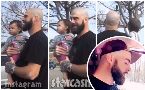 David Eason skinhead shaved bald