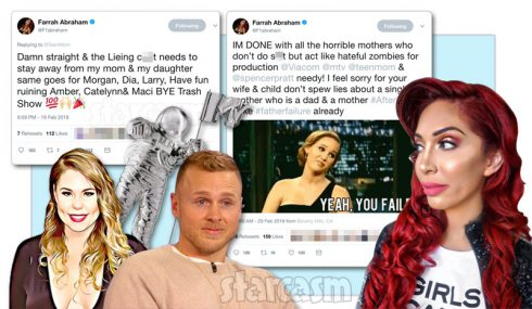 Farrah Abraham Kail Lowry Spencer Pratt tweets