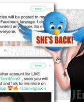 Jenelle Eason returns to Twitter
