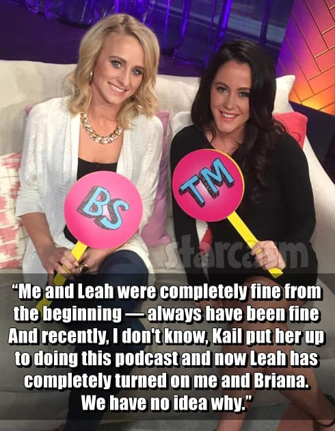 Jenelle and Leah quote