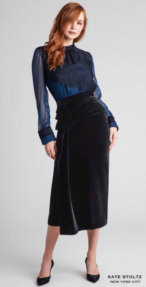 Kate Stoltz dress worn by model Zazoe