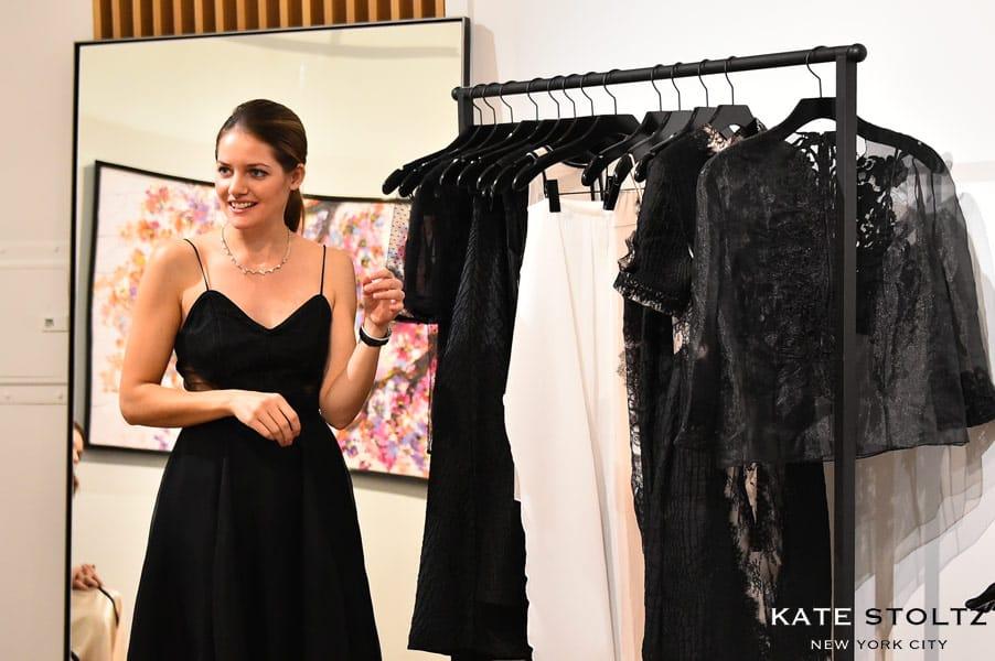 Return To Amish Kate Stoltz fashion designs pop-up shop