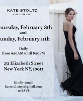 Breaking Amish Kate Stoltz New York City popup shop flyer
