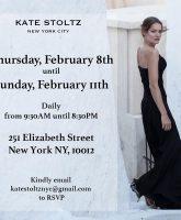 Breaking Amish Kate Stoltz New York City popup shop flyer