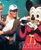Kendra Wilkinson Baskett responds to tabloid story about marriage problems Mickey Mouse