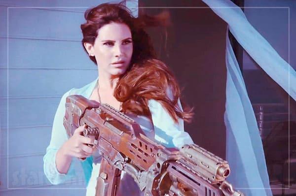 Lana Del Ray gun