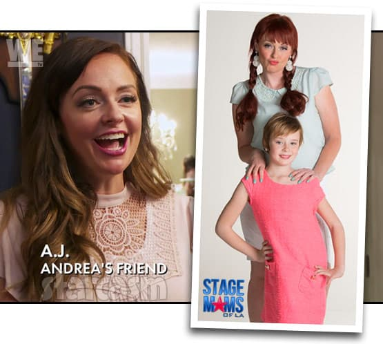 Love After Lockup Andrea's friend AJ on Stage Moms of LA