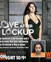 Love After Lockup Johnna posts Garretts girlfriend Nelly's mug shot photo