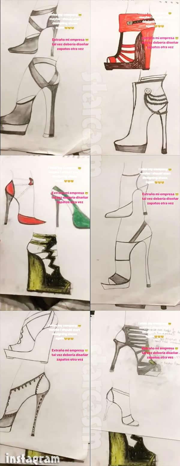 90 Day FIance Paola Mayfield shoe designs