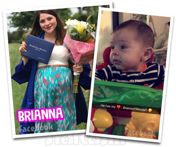 Teen Mom Young and Pregnant Briannna Jaramillo son Braeson