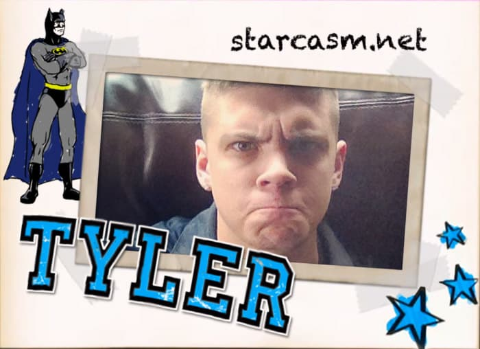 Teen Mom scrapbook Tyler Baltierra Batman