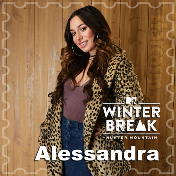 MTV Winter Break Hunter Mountain Alessandra Camerlingo